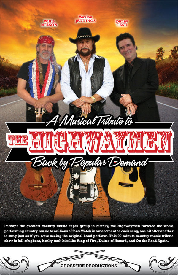 Highwaymen Tribute < Crossfire Productions